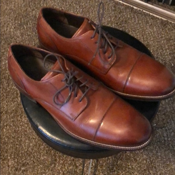 Cole Haan Benton Leather Cap Toe Derby